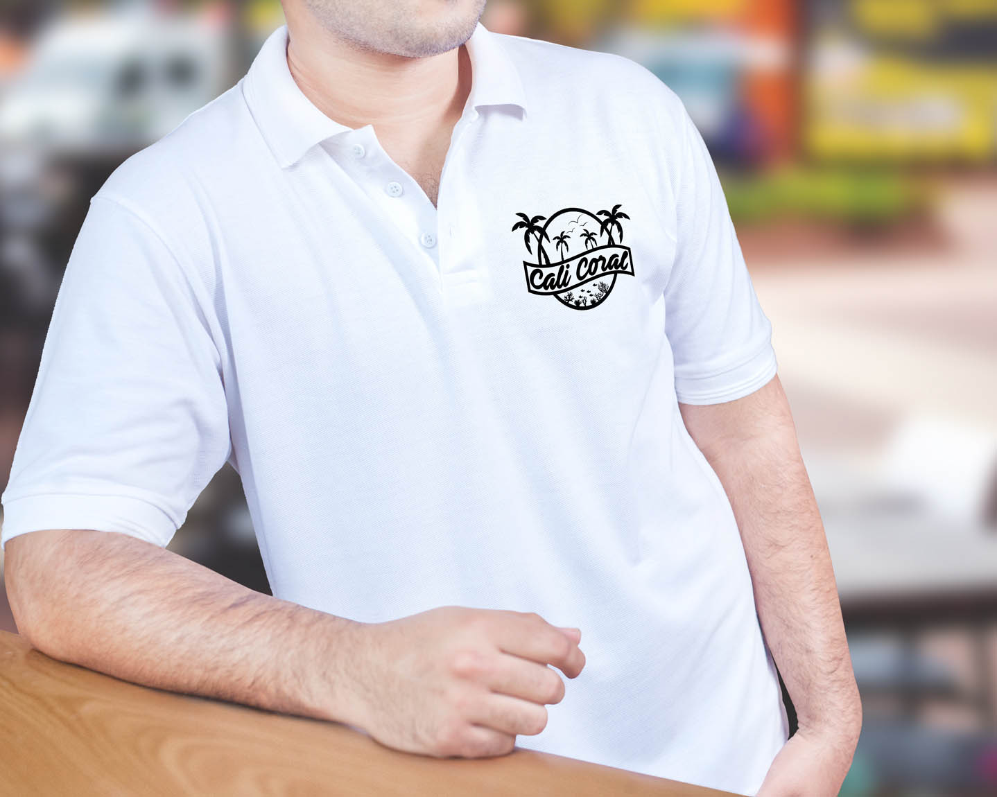 CaliCoral Polo Shirt